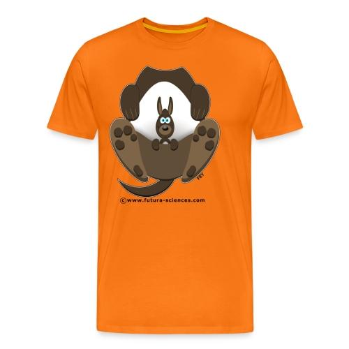 kangou1 texte - T-shirt Premium Homme