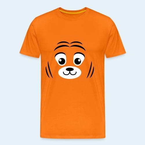 Cachorro de tigre (Cachorros) - Camiseta premium hombre