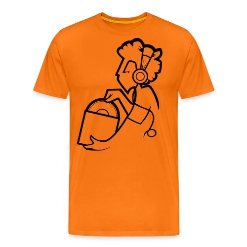 Raw Material Character - Men's Premium T-Shirt