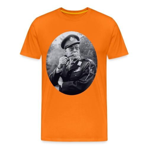 bernhard smoking - Mannen Premium T-shirt