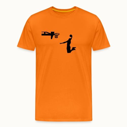 Dunking - Männer Premium T-Shirt