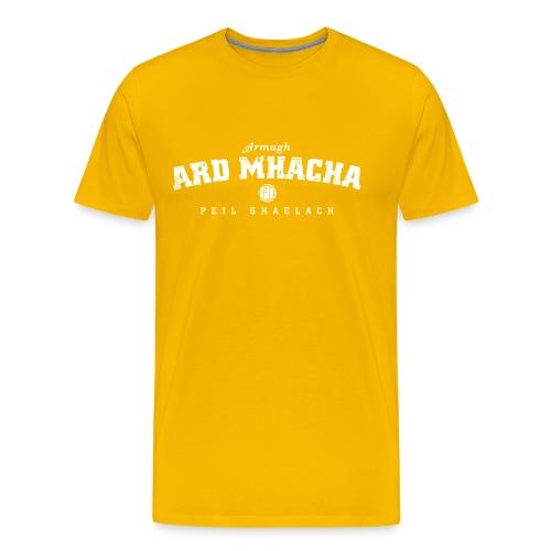armagh vintage white - Men's Premium T-Shirt