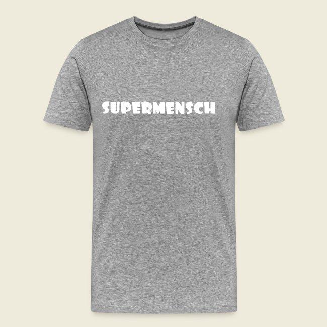 Supermensch in weiß 2