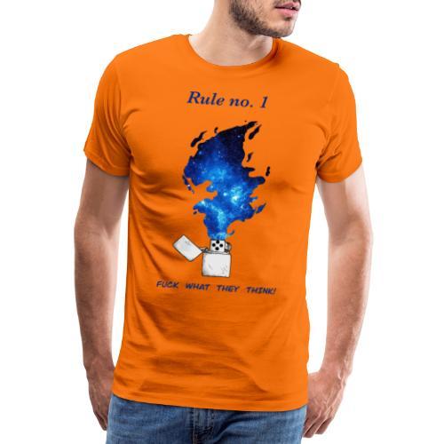 Rule no. 1 - Herre premium T-shirt