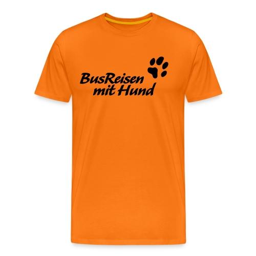 Busreisen-mit-Hund - Männer Premium T-Shirt