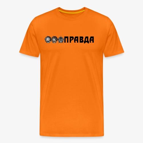 Laura ja Saska Pravda - Miesten premium t-paita