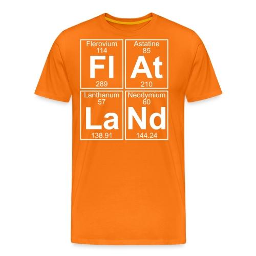 Fl-At-La-Nd (flatland) - Full - Men's Premium T-Shirt