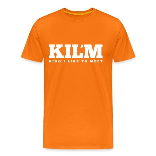 King I Like to Meet - Mannen Premium T-shirt