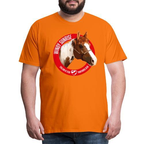 WINDY SUNRISE - Maglietta Premium da uomo