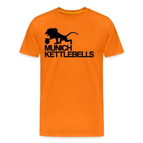 Logo MKBblack png - Männer Premium T-Shirt