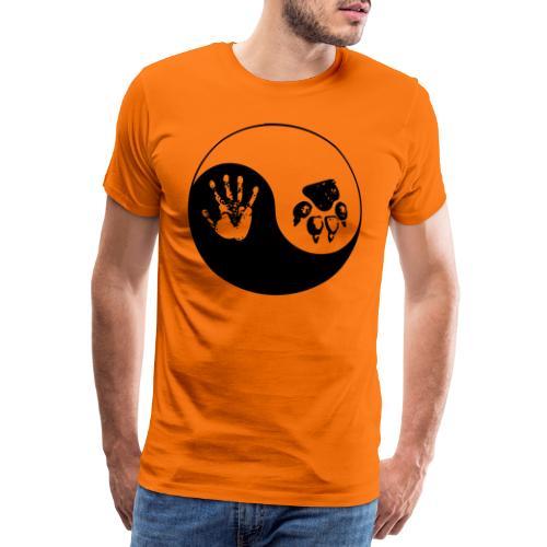 vegan - Premium T-skjorte for menn