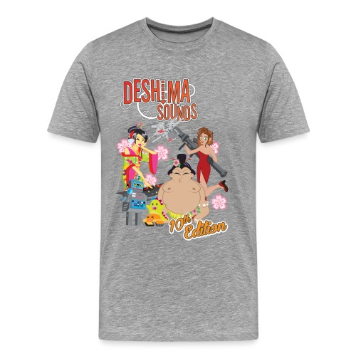 Deshima Sounds 10 2013 - Men's Premium T-Shirt