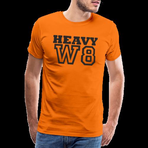 Heavy Weight - Mannen Premium T-shirt
