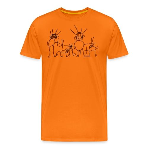 Meine Familie - Männer Premium T-Shirt