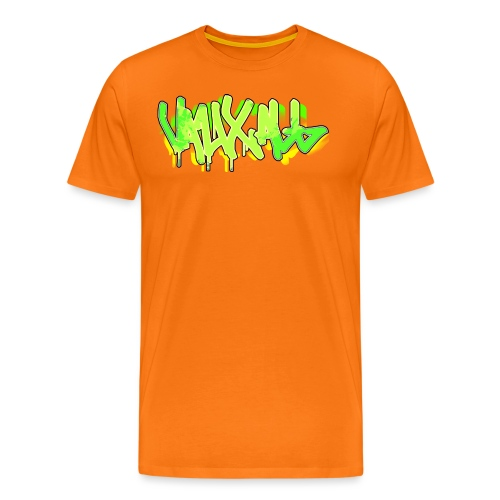 Graffiti | GREEN - Men's Premium T-Shirt
