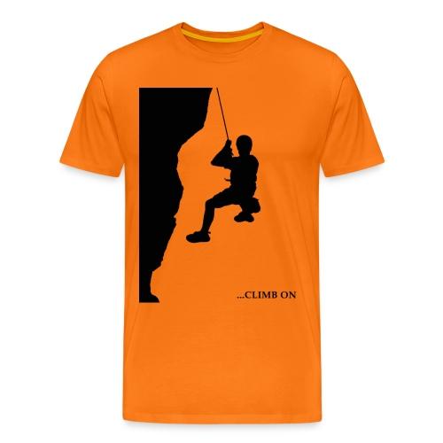 Kletter - Shirt - Männer Premium T-Shirt