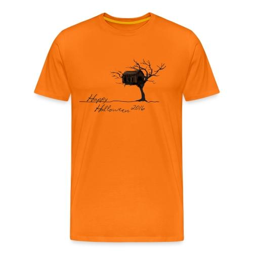Baumhaus Happy Halloween 2016 - Männer Premium T-Shirt
