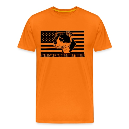 American Stafford © - www.dog-power.nl - Mannen Premium T-shirt
