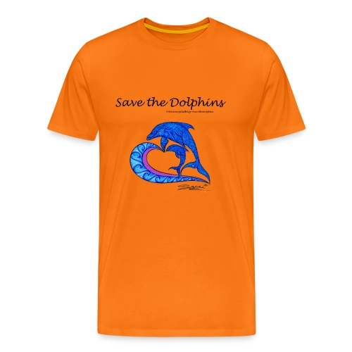 Save the Dolphins - Männer Premium T-Shirt