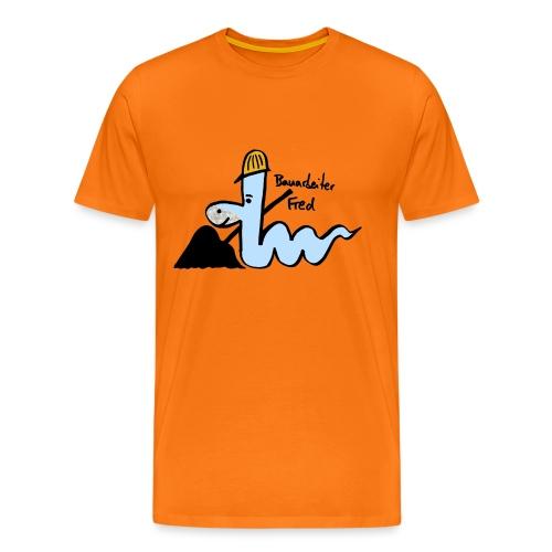 Bauarbeiter Fred - Männer Premium T-Shirt