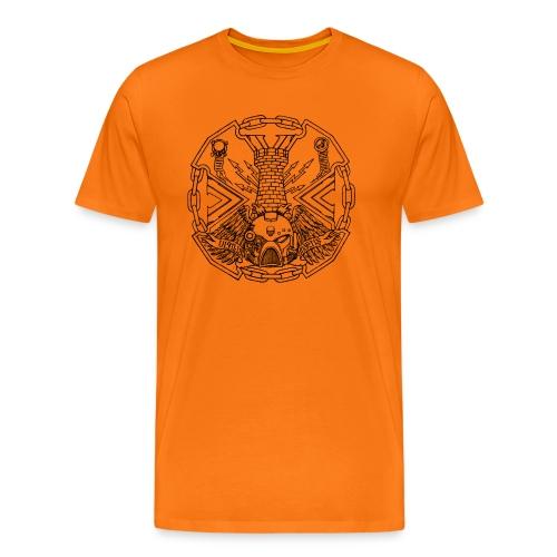 Logotshirtblack1 png - Men's Premium T-Shirt