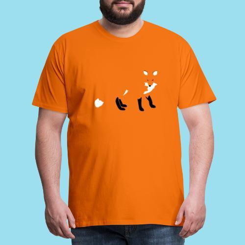FOX LURK - Männer Premium T-Shirt