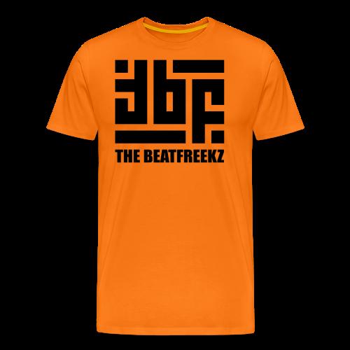 the beatfreekz logo 3 black - Men's Premium T-Shirt