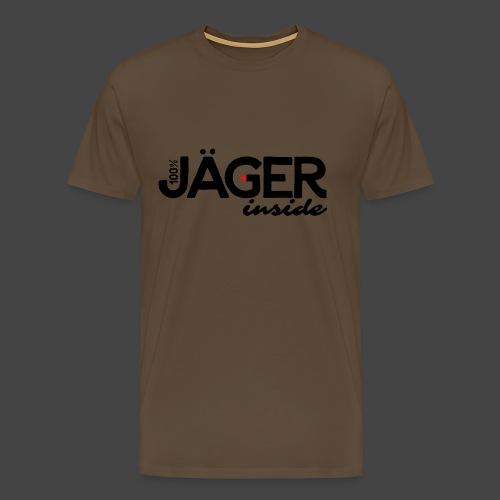 """""""Jäger inside"""" exklusives Jägershirt-Original - Männer Premium T-Shirt"""