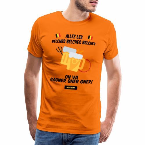allez belge Par MDR.WTF - Men's Premium T-Shirt