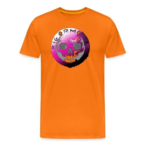 Rigormortiz Purple Design - Men's Premium T-Shirt
