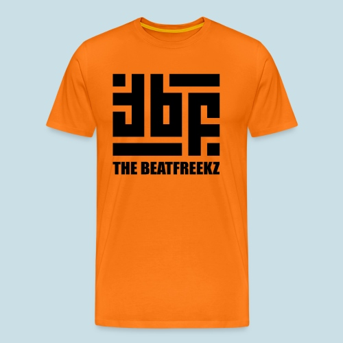 the beatfreekz logo 3 black - Men's Premium T-Shirt
