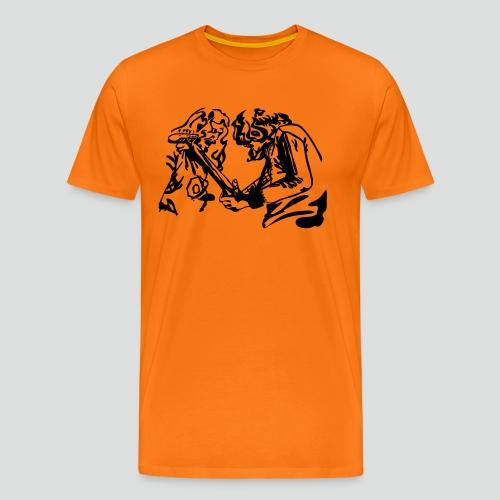 2 Rockin Dudes - Männer Premium T-Shirt