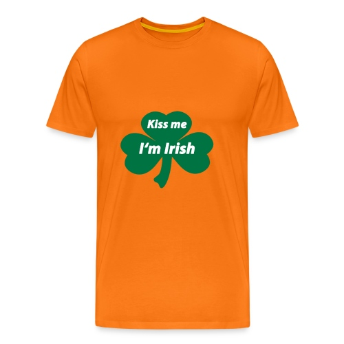 Kiss me I'm Irish - Männer Premium T-Shirt