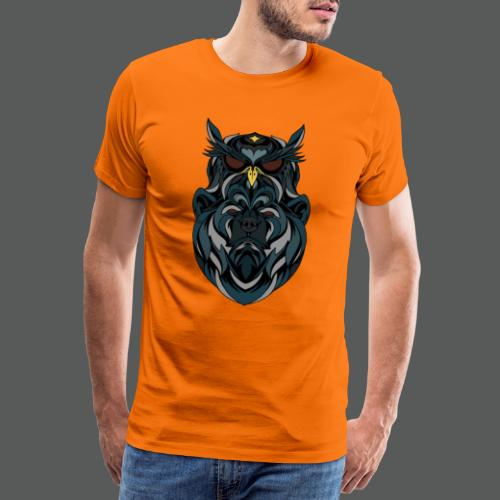 animal art work - Men's Premium T-Shirt