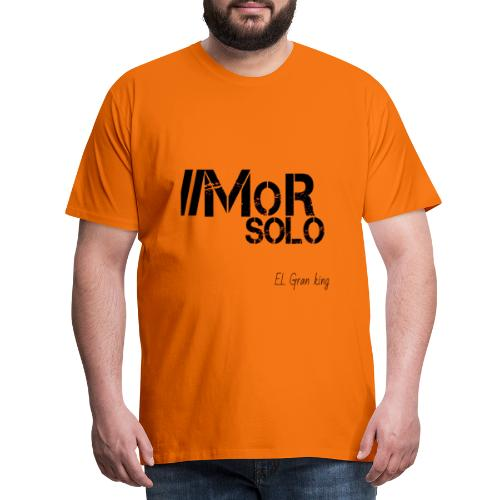 Mor solo El Gran KIng - Camiseta premium hombre