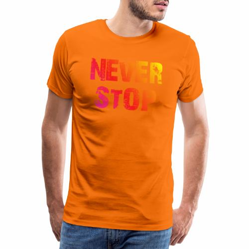 neverstopbunt - Männer Premium T-Shirt