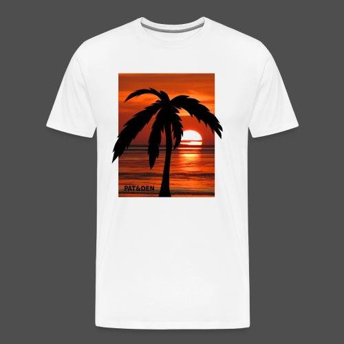 Sunset Palm 0PD20 - Men's Premium T-Shirt
