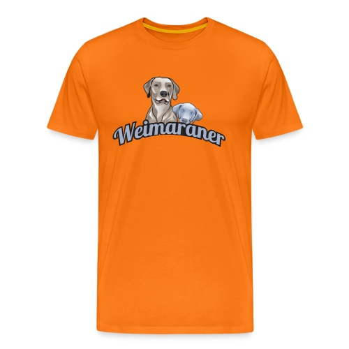 weimaranerlogo01 - Männer Premium T-Shirt