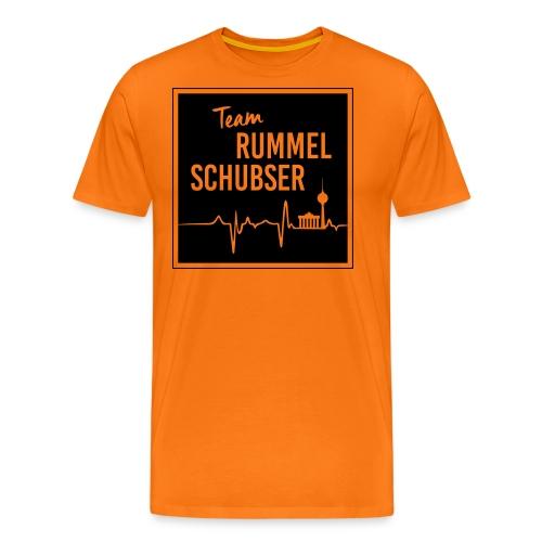 Team RS in eckig und s/w - Männer Premium T-Shirt