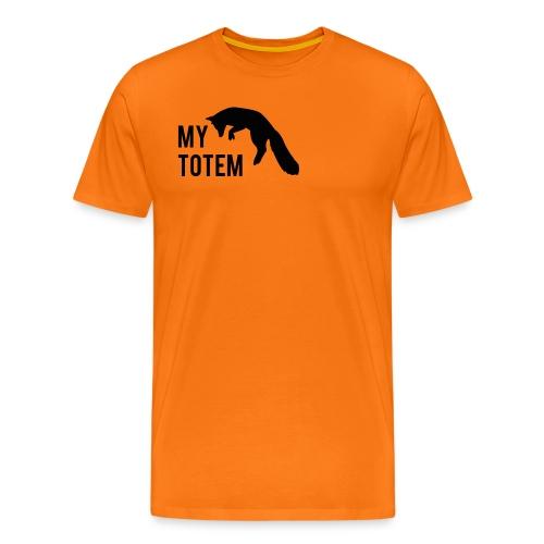 My totem fox - T-shirt Premium Homme