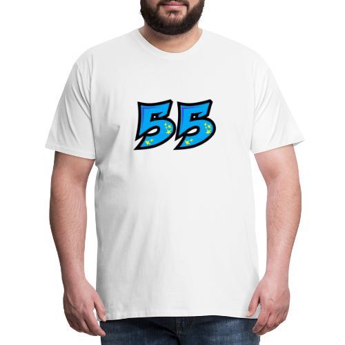 graf55blue - Miesten premium t-paita