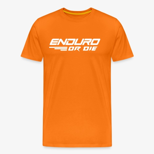 enduro or die mtb - Men's Premium T-Shirt