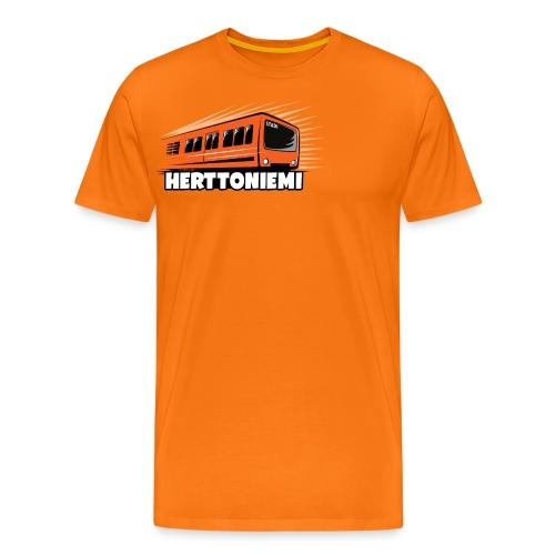 09-HERTTONIEMI METRO - Itä-Helsinki - Miesten premium t-paita