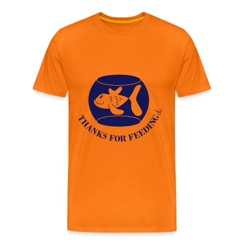 Thanks_for_feeding_dit - Men's Premium T-Shirt
