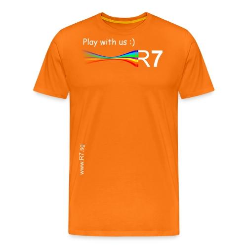 R7 TShirt2W png - Männer Premium T-Shirt