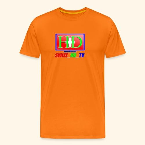 SWIZZ HD TV - Männer Premium T-Shirt