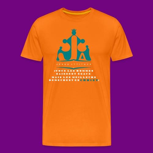 tous les hommes naissent égaux... - T-shirt Premium Homme