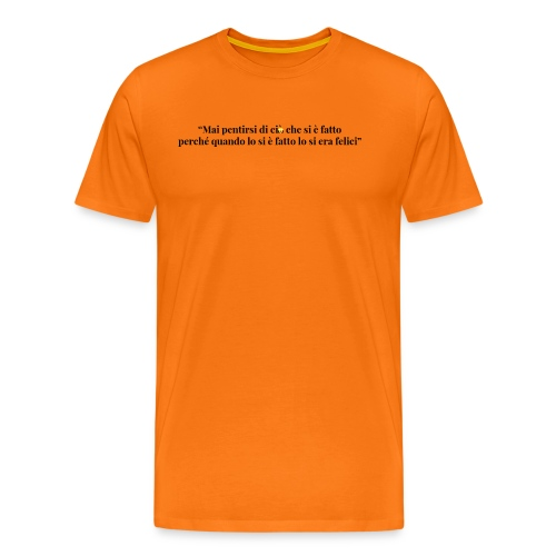 frase_6 - Maglietta Premium da uomo
