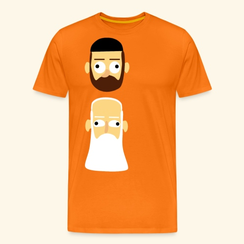Stille Willem en Leipe Leo - Mannen Premium T-shirt