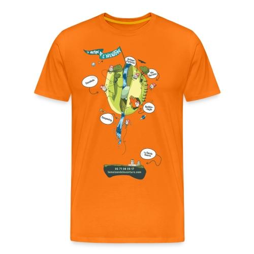 T-shirt Maison de L'aventure - T-shirt Premium Homme